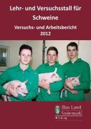 Lehr- und Versuchsstall für Schweine - LFS Hatzendorf
