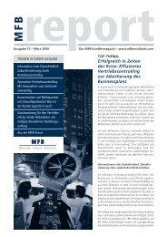 Effizientes Vertriebscontrolling zur Absicherung des Businessplans