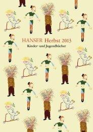 Vorschau als PDF - Hanser Literaturverlage