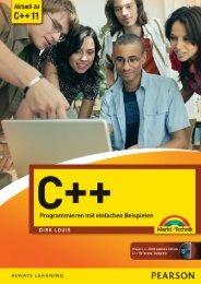C++ Programmieren mit einfachen Beispielen *978-3 ... - Die Onleihe