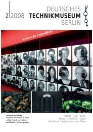 Leseprobe 2 2008 (PDF) - Deutsches Technikmuseum