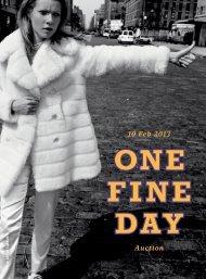 Auktionskatalog als PDF herunterladen - One Fine Day eV