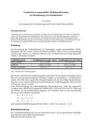 Geschlossener sequentieller Multihypothesentest zur Bestimmung ...
