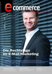 Leseprobe e-commerce Magazin 2013/05