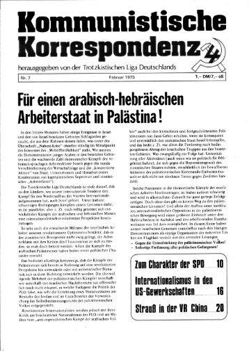 KK 07/75 - International Bolshevik Tendency