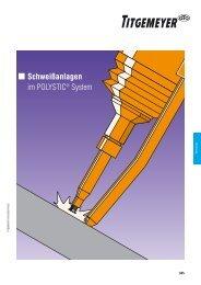 Schweißanlagen im POLYSTIC ® -System – Katalog - Titgemeyer