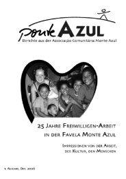 25 Jahre Freiwilligendienst in Monte Azul