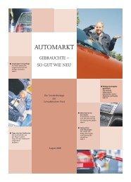 Automarkt - Schwäbische Post
