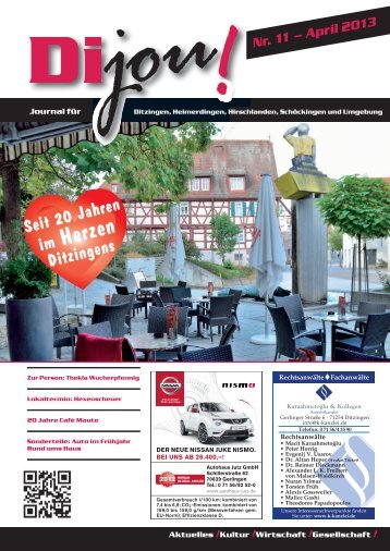 Dijou Nr. 11 - Dimedia Verlag GbR
