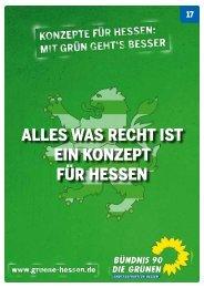 was Recht ist - Bündnis 90/Die Grünen Hessen