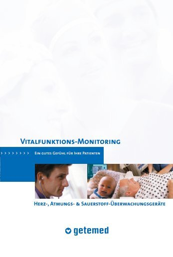 Vitalfunktions-Monitoring - GETEMED Medizin- und ...