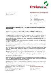 Entscheidung vom 28.04.2008 - Straßen.NRW