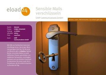 Sensible Mails verschlüsseln