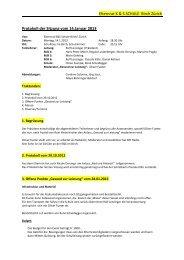 Protokoll vom 14. Januar 2013