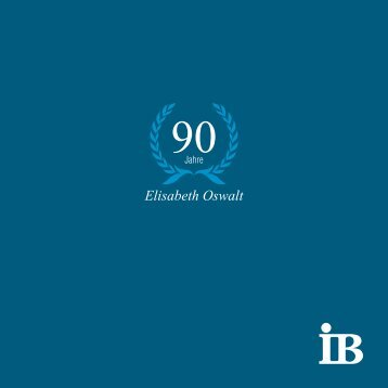 Elisabeth Oswalt - Internationaler Bund