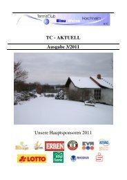 Ausgabe Dezember 2011 - Tennisclub Blau-Weiß Horchheim e. V.