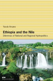 Ethiopia and the Nile - ETH Zürich