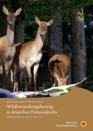 Wildbestandsregulierung in deutschen Nationalparks - EUROPARC ...