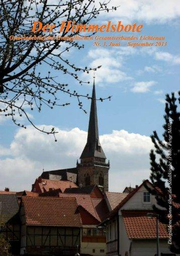 Der Himmelsbote - Evangelische Kirche Hessisch Lichtenau