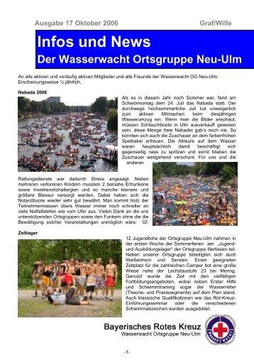 Infos und News 17 - Wasserwacht Ortsgruppe Neu-Ulm