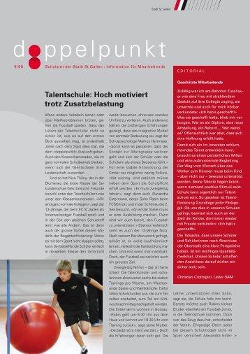 Doppelpunkt 6/08 (160 kB, PDF) - Stadt St.Gallen