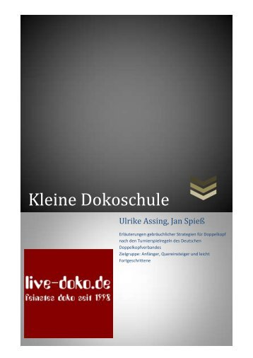 Kleine Dokoschule - Live-Doko.de