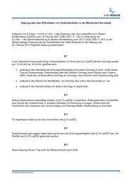 Satzung über das Offenhalten von Verkaufsstellen ... - Stadt Wiesloch