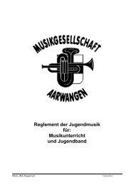 download - Musikgesellschaft Aarwangen