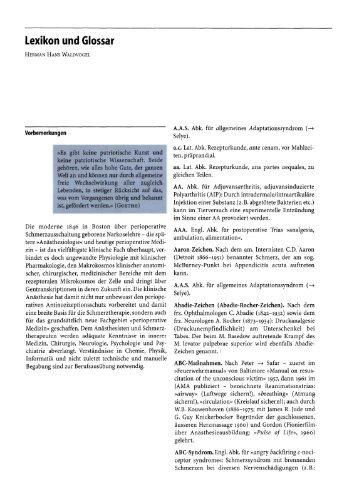 Lexikon und Glossar - Springer