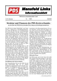 5/2005 - DIE LINKE. Kreisverband Mansfeld-Südharz