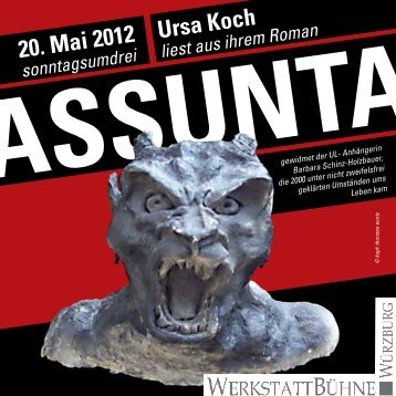 20. Mai 2012 Ursa Koch