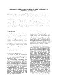capacity credits for wind energy in deregulated electricity ... - TU Berlin