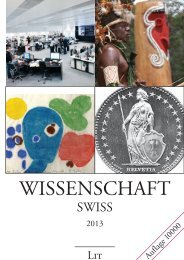 Wissenschaft Swiss - LIT Verlag