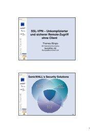 SSL-VPN - IT Security Forum