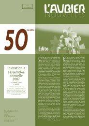 Nouvelles 50.indd - L'Aubier