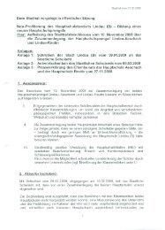 Dem Stadtrat vorgelegt in öffentlicher Sitzung Neu-Profilierung des ...