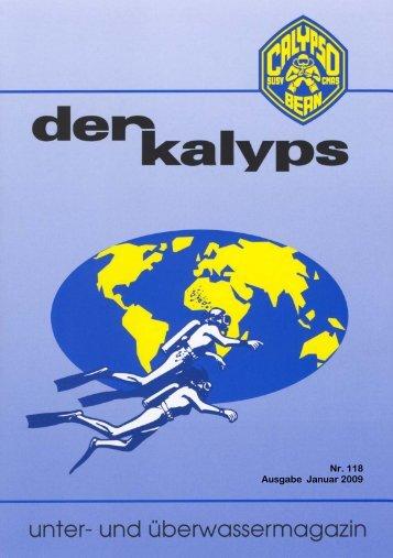 kalyps» Nr. 118 - bei der Tauchgruppe Calypso Bern