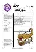 kalyps» Nr. 118 - bei der Tauchgruppe Calypso Bern - Seite 3