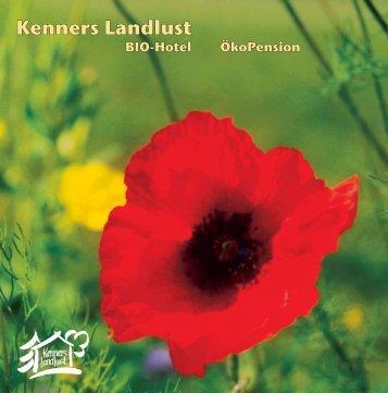 Flyer 2005-September.indd - Biohotel Kenners LandLust