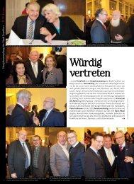 Würdig vertreten - TOP Magazin Frankfurt