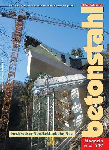 Betonstahl-Magazin 2/07 - Güteschutzverband für Bewehrungsstahl