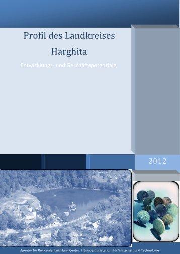 Profilul Județului HARGHITA - ADR Centru