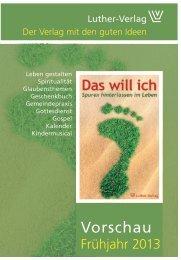 Vorschau - Luther-Verlag