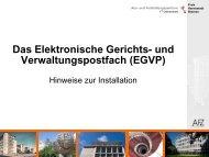 Java Installation - Elektronischer Rechtsverkehr der Freien ...