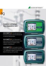 Auspacken und loslegen Netz-Analysatoren Serie - GMC-I ...