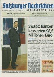 Zum Salzburger Nachrichten-Artikel vom 23.1.2013 - Finanzbuddha