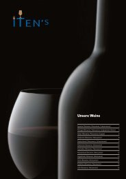 Download als PDF - Itens Vinothek & Gourmet Lounge   Seon
