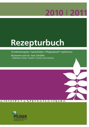 2010 2011 Rezepturbuch - Homöopathisches Laboratorium A. Pflüger