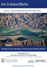 Die Erdoberfläche - Deutscher Arbeitskreis für Geomorphologie
