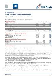 Preisblatt Strom Classic und Strom Kombi (pdf | 0,08 MB)